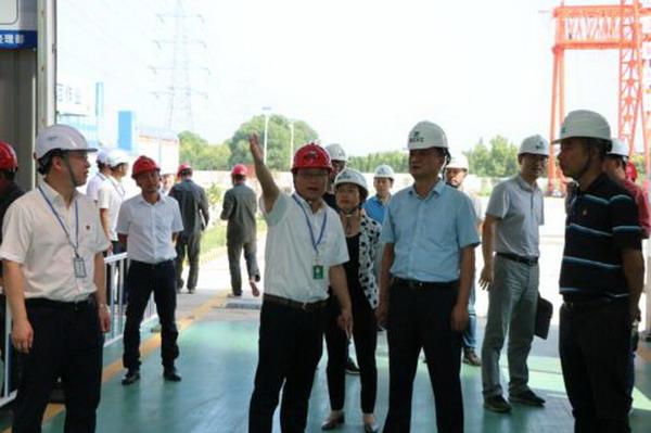 戴铭副主席调研联挂项目建设情况
